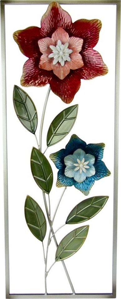 """Wandobjekt """"Deko-Wandbild Blumen"""""""