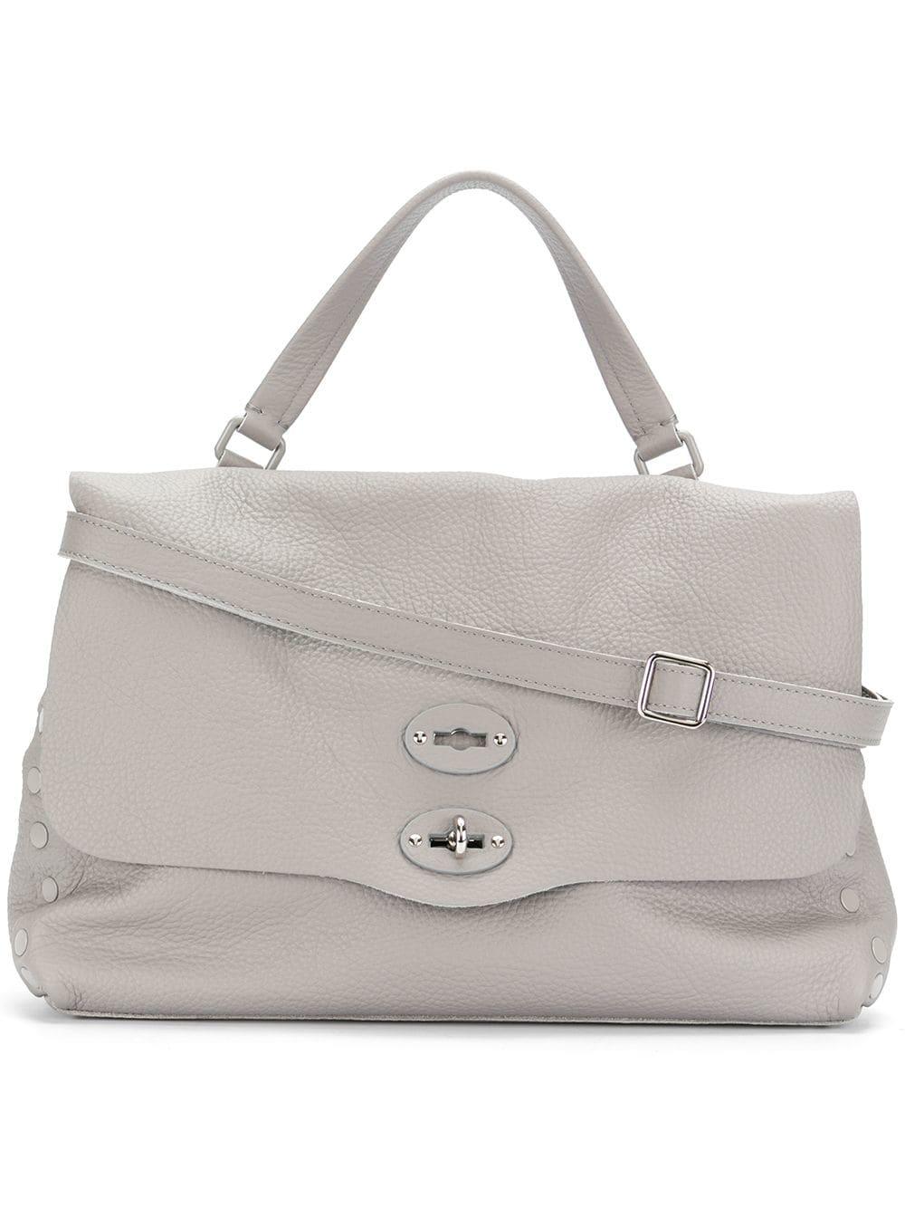 Zanellato Mittelgroße 'Postina' Handtasche - Grau