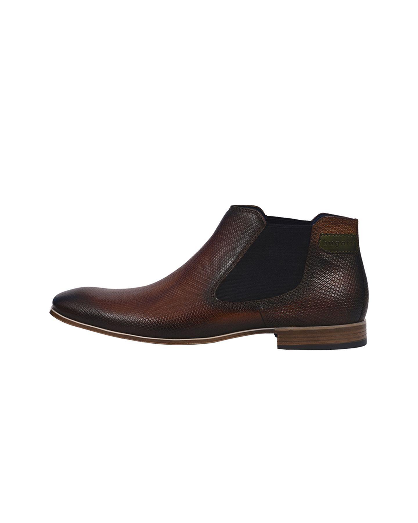 bugatti Chelsea boots in cognac in Größe 47