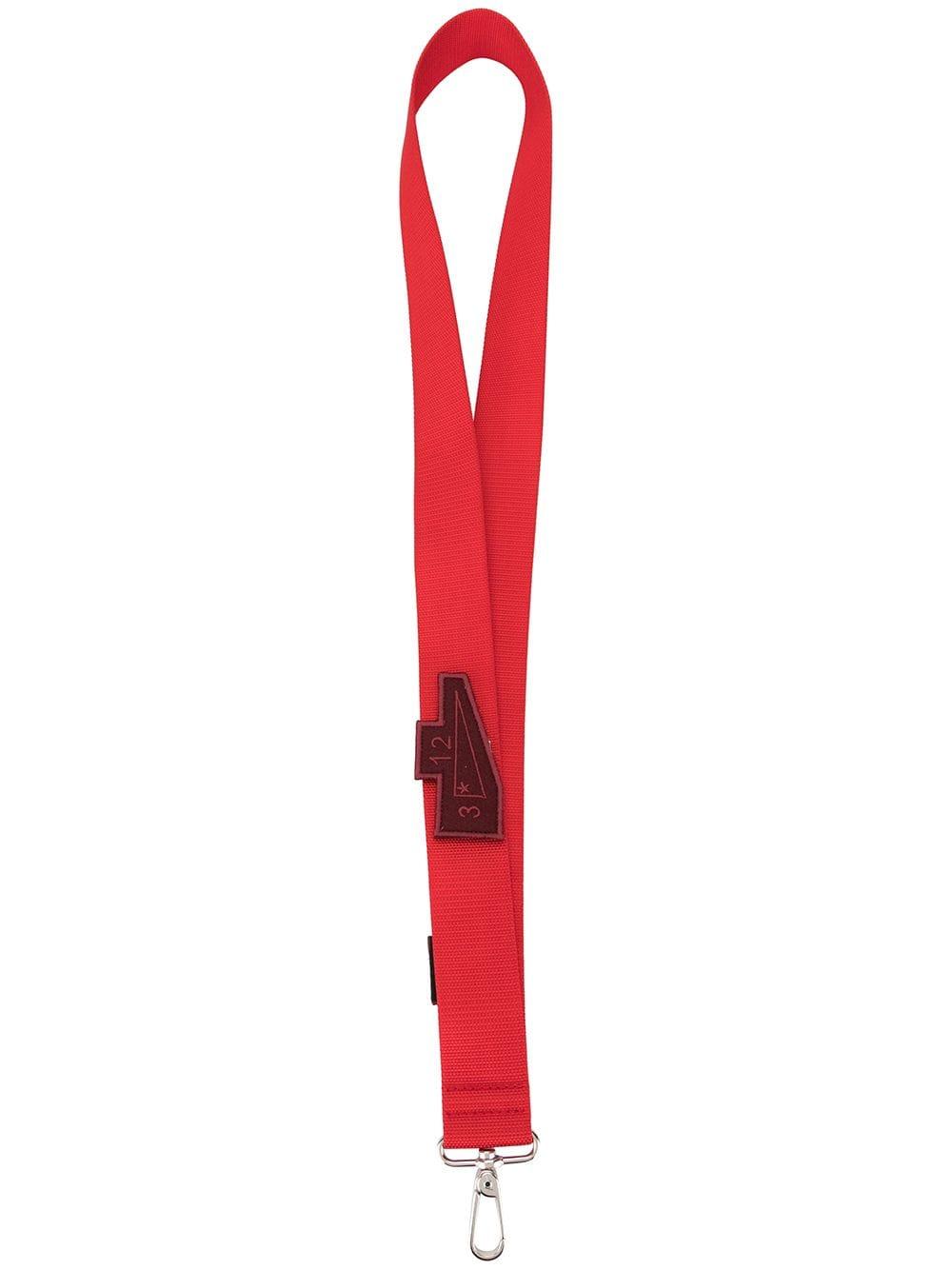 A-Cold-Wall* Schlüsselanhänger mit Logo-Patch - Rot