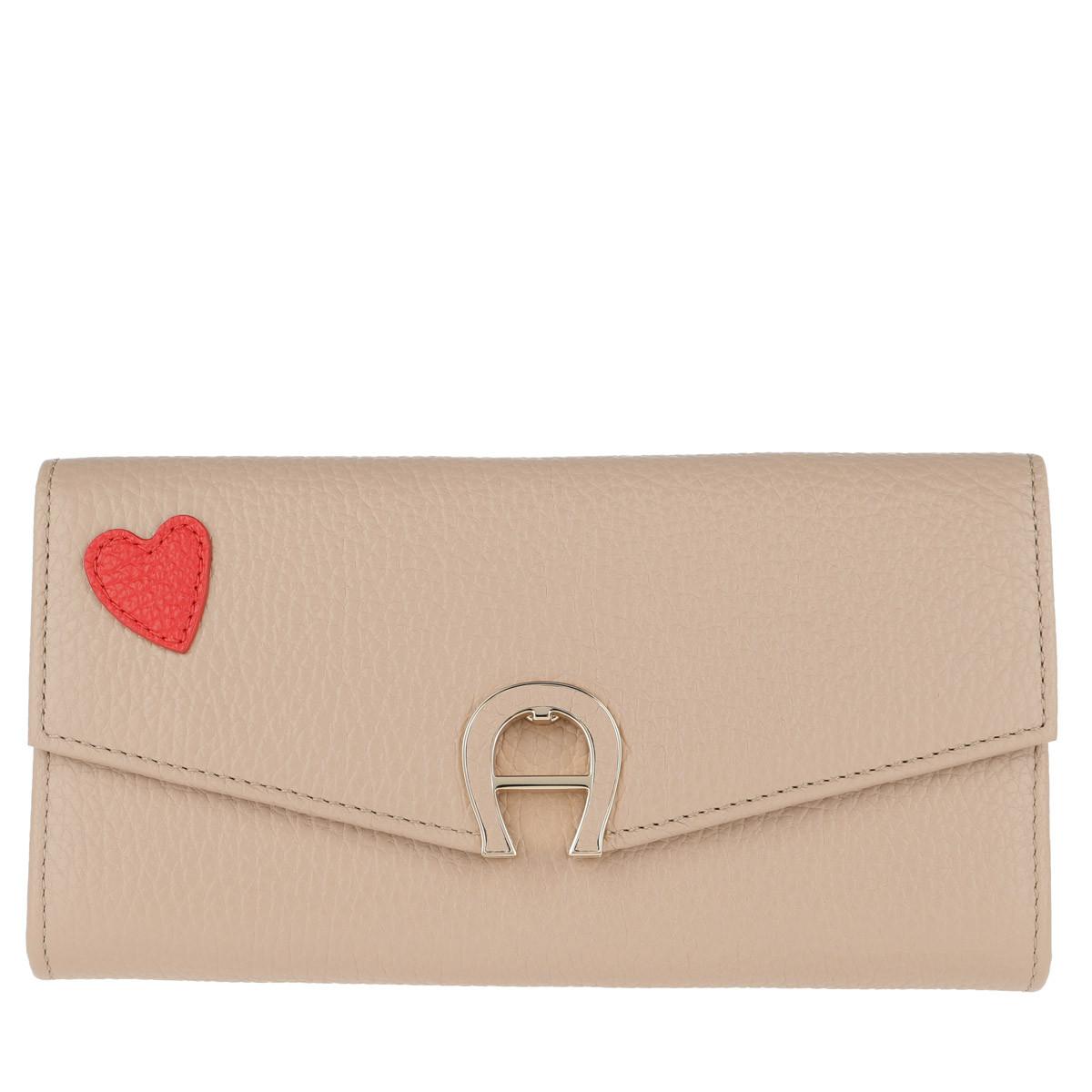 Aigner Portemonnaie - Love Wallet Nougat - in beige - für Damen