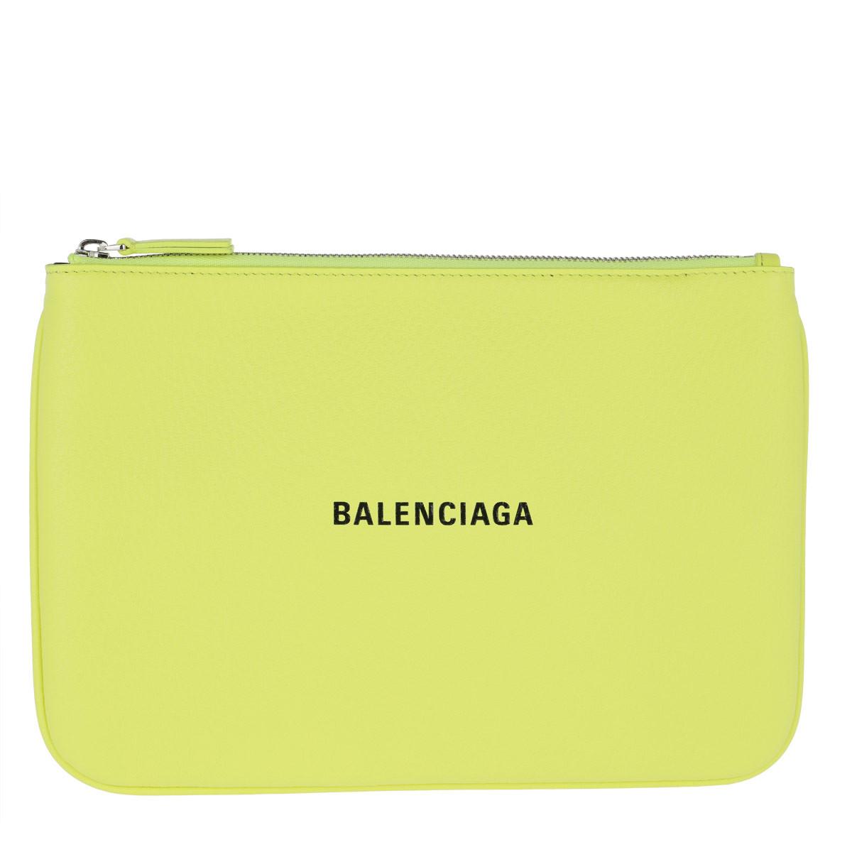 Balenciaga Clutch - Balenciaga Clutch Acid Green - in gelb - für Damen