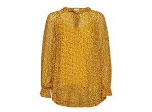 Branch Ls Blouse Bluse Langärmlig Gelb SECOND FEMALE