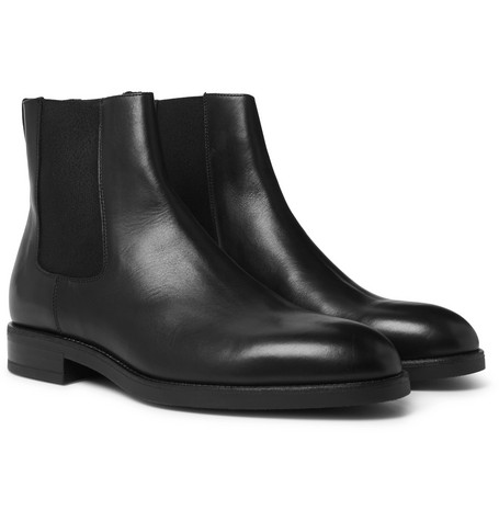 Canon Leather Chelsea Boots - Black