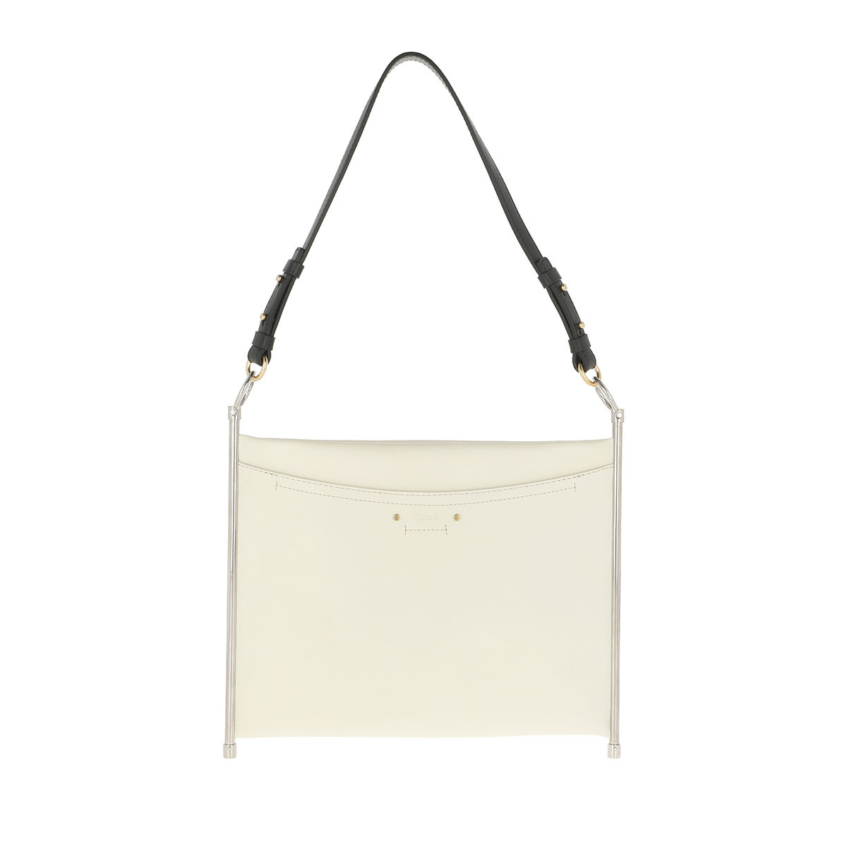 Chloé Clutch - Roy Clutch Medium Natural White - in weiß - für Damen