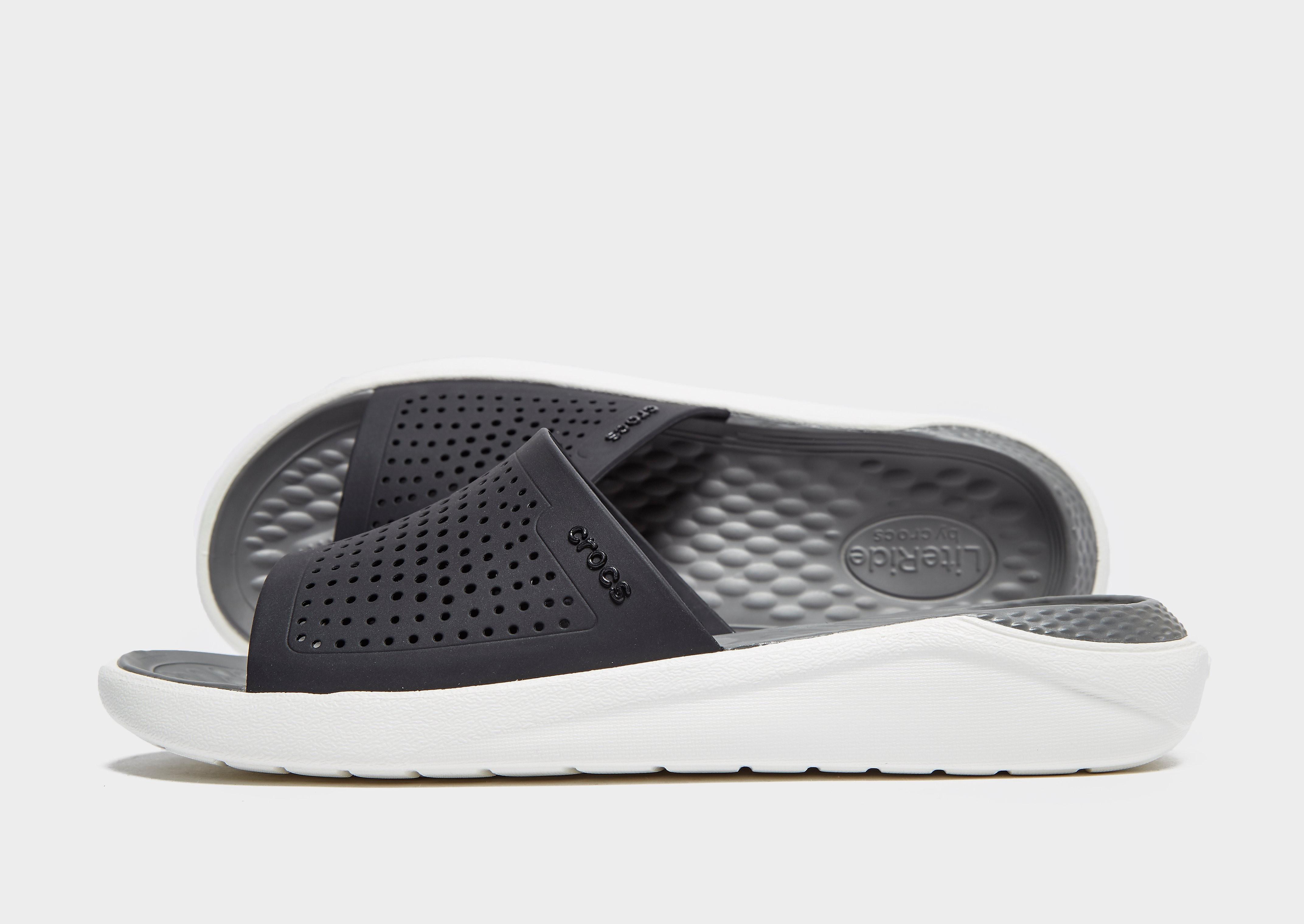 Crocs LightRide Slides Herren - Grau - Mens, Grau