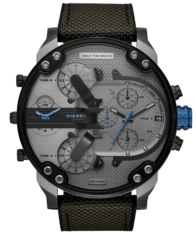 Diesel DZ7420 Herren-Armbanduhr Chronograph Mr. Daddy 2.0