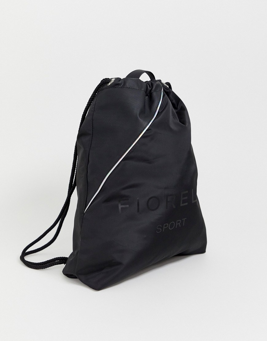 Fiorelli - Elite - Schwarze Tasche mit Kordelzug - Schwarz