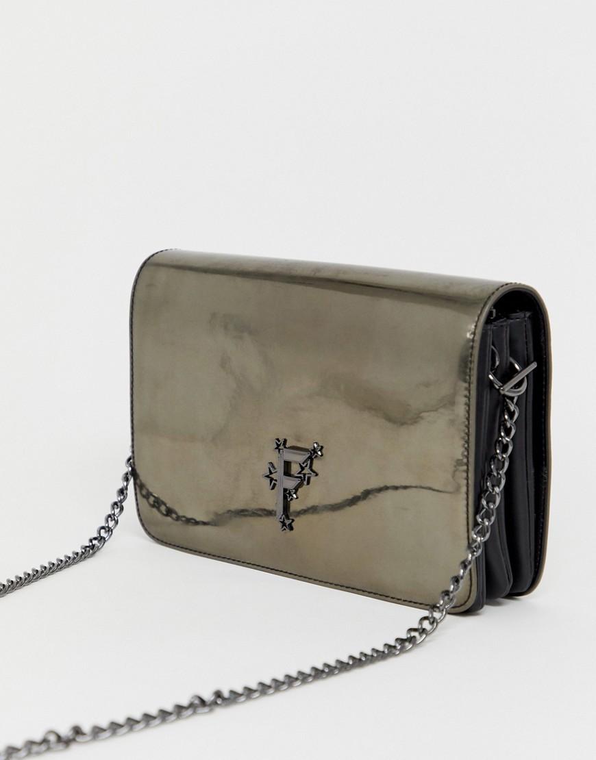 Fiorelli - Nighttails - Große Schultertasche mit Umschlagklappe - Grau