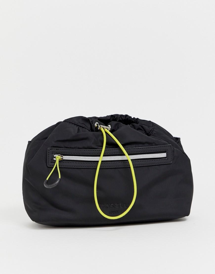 Fiorelli - Schwarze Tasche mit Kordelzug - Schwarz