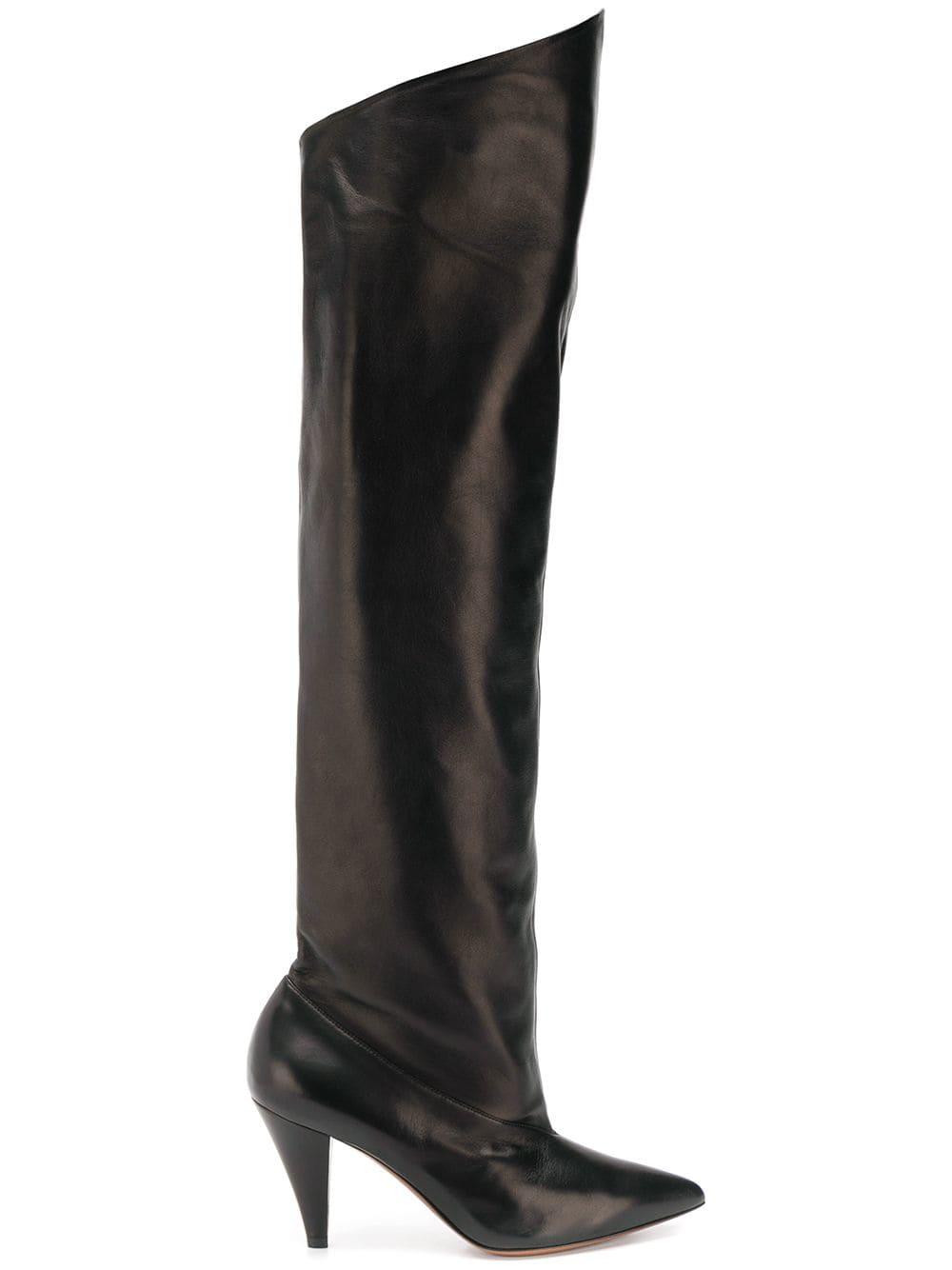 Givenchy Overknee-Stiefel - Schwarz