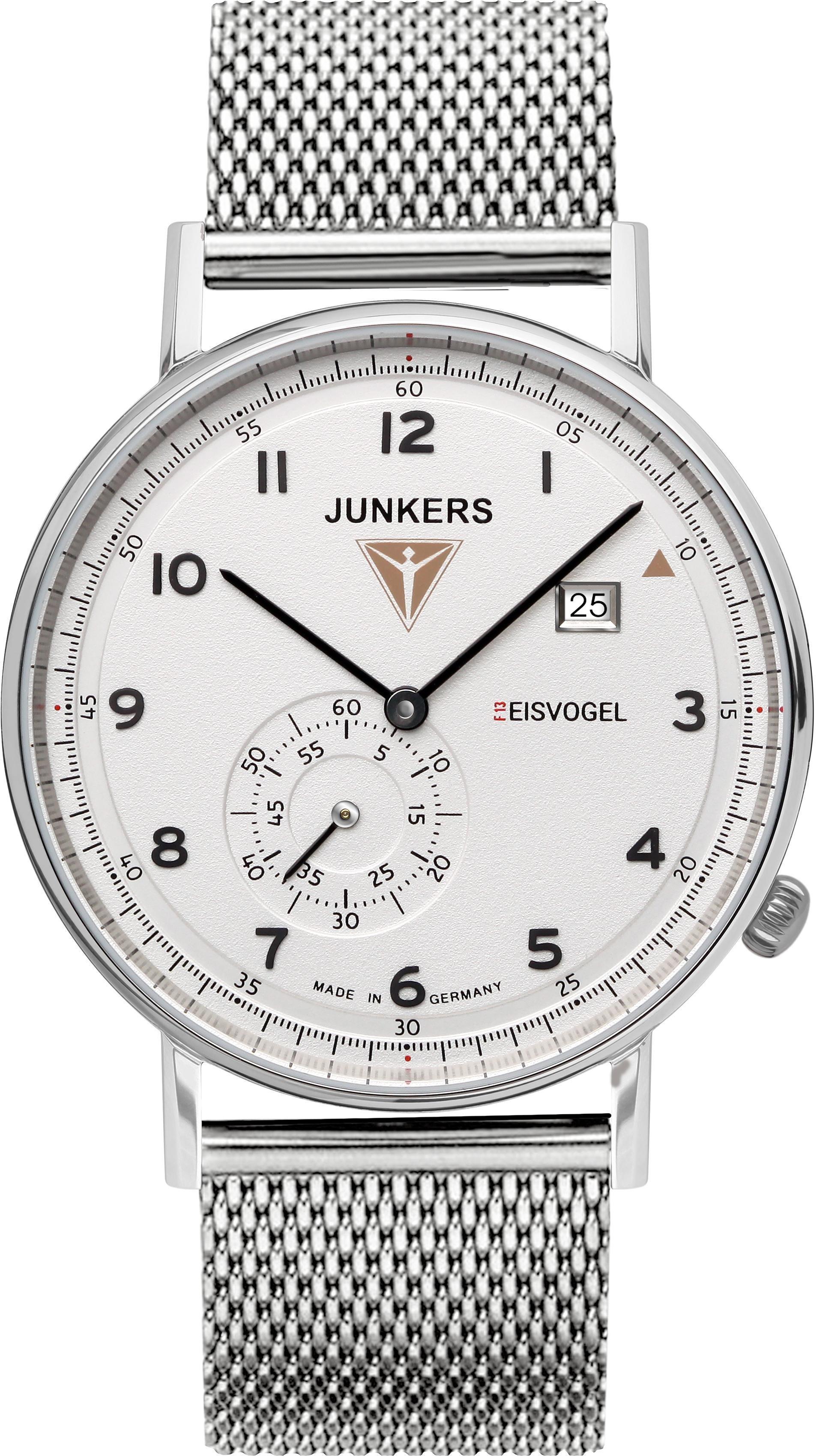 Junkers-Uhren Quarzuhr Eisvogel 6730-M-1