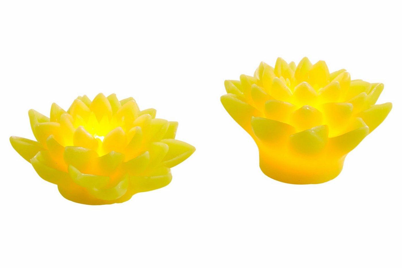 LED Deko-Lotusblum, ca. 12cm, klein, heine home