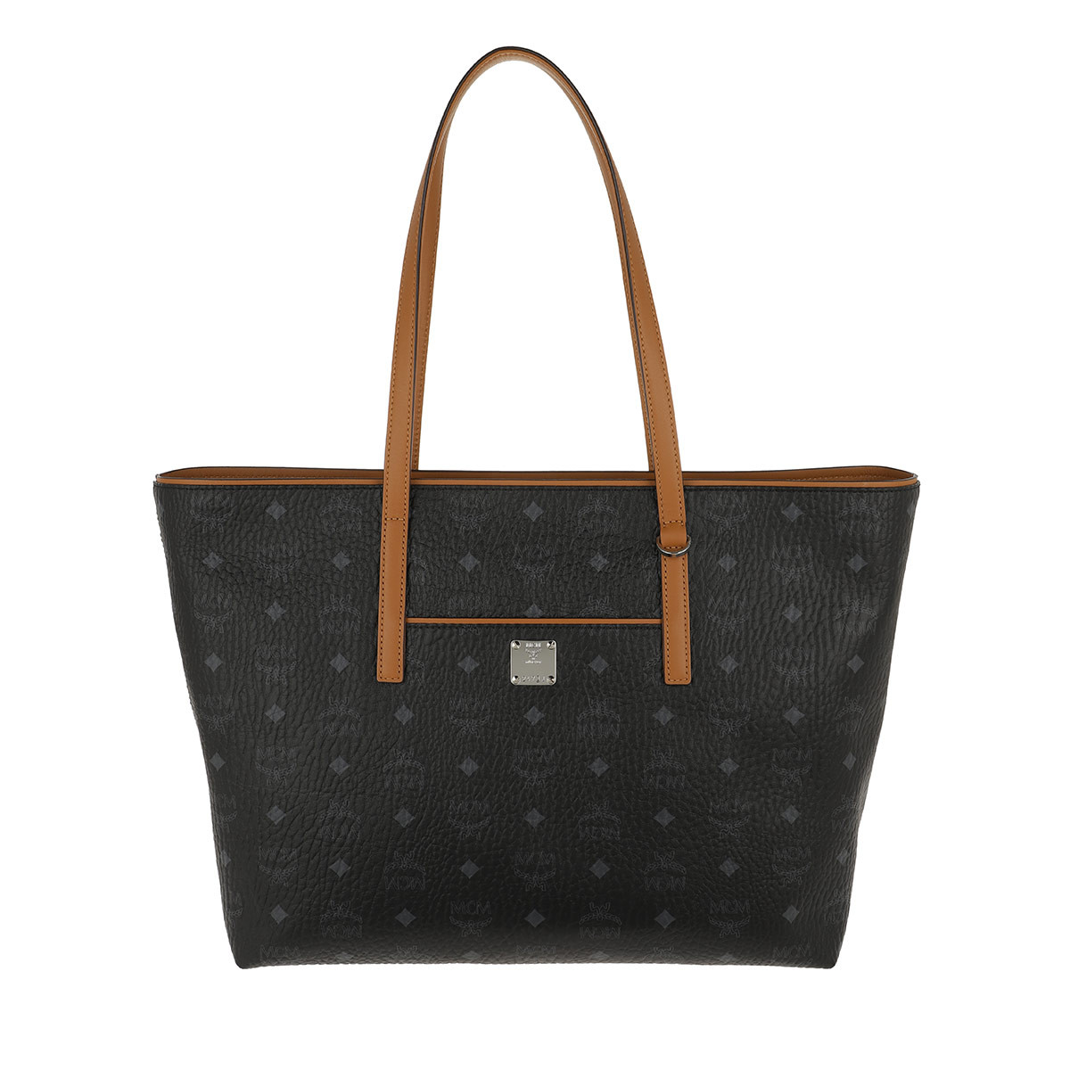 MCM Shopper - New Anya Shopper Medium Black - in schwarz - für Damen