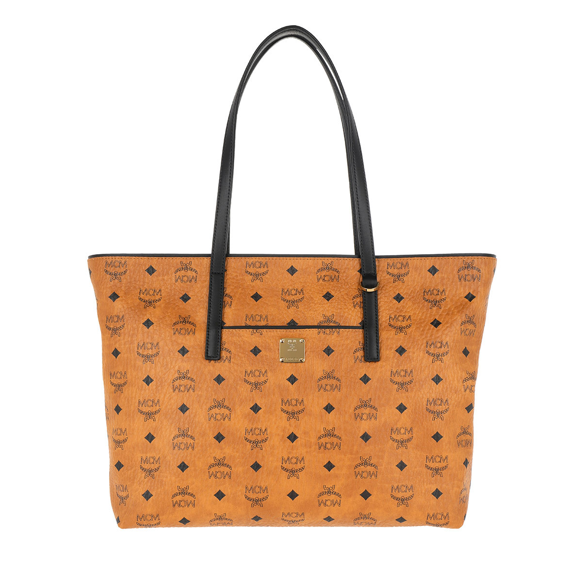 MCM Shopper - New Anya Shopper Medium Cognac - in cognac - für Damen