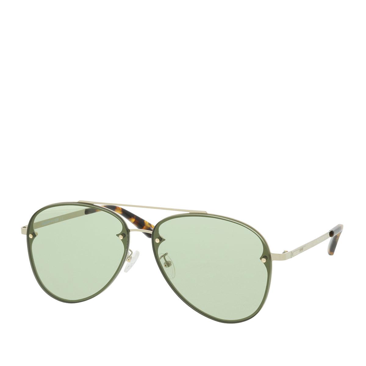 McQ Sonnenbrille - MQ0136S 61 - in grün - für Damen