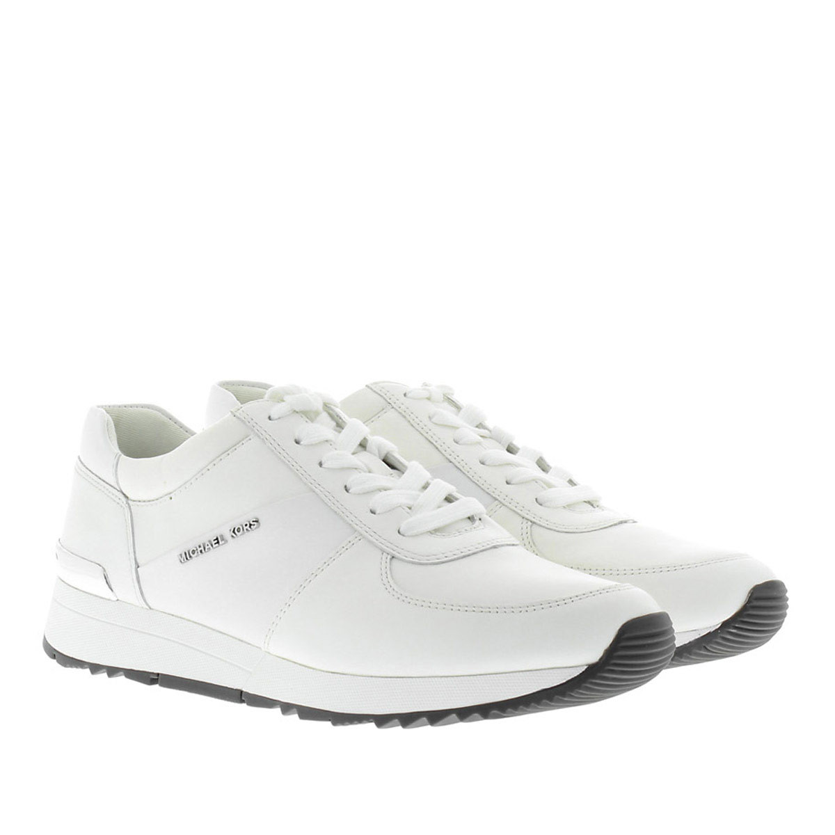 Michael Kors Sneakers - Allie Trainer Flat Optic White - in weiß - für Damen