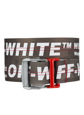 Off-White Gürtel Industrial gruen
