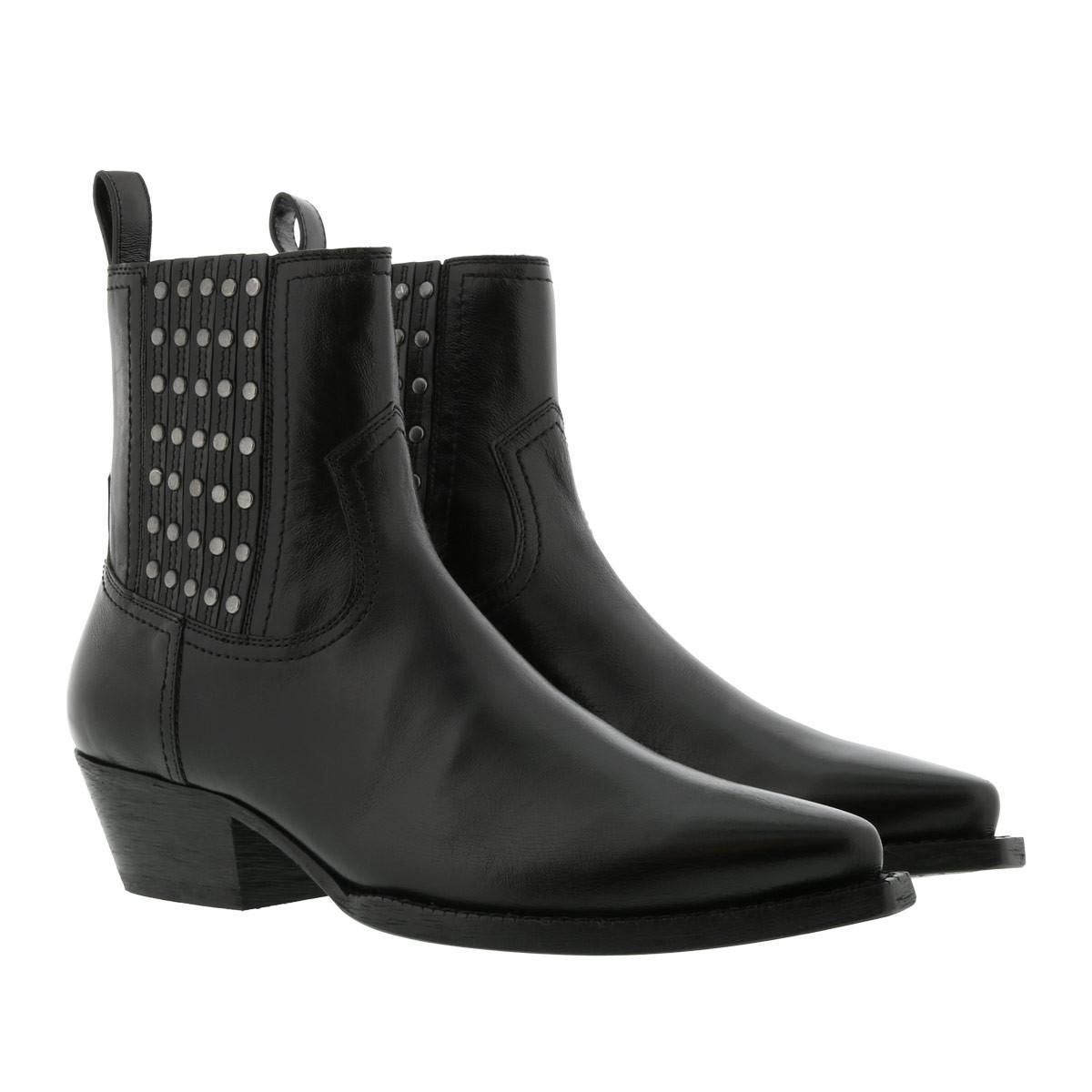 Saint Laurent Boots - Lukas Boots Studs 40 Noir - in schwarz - für Damen