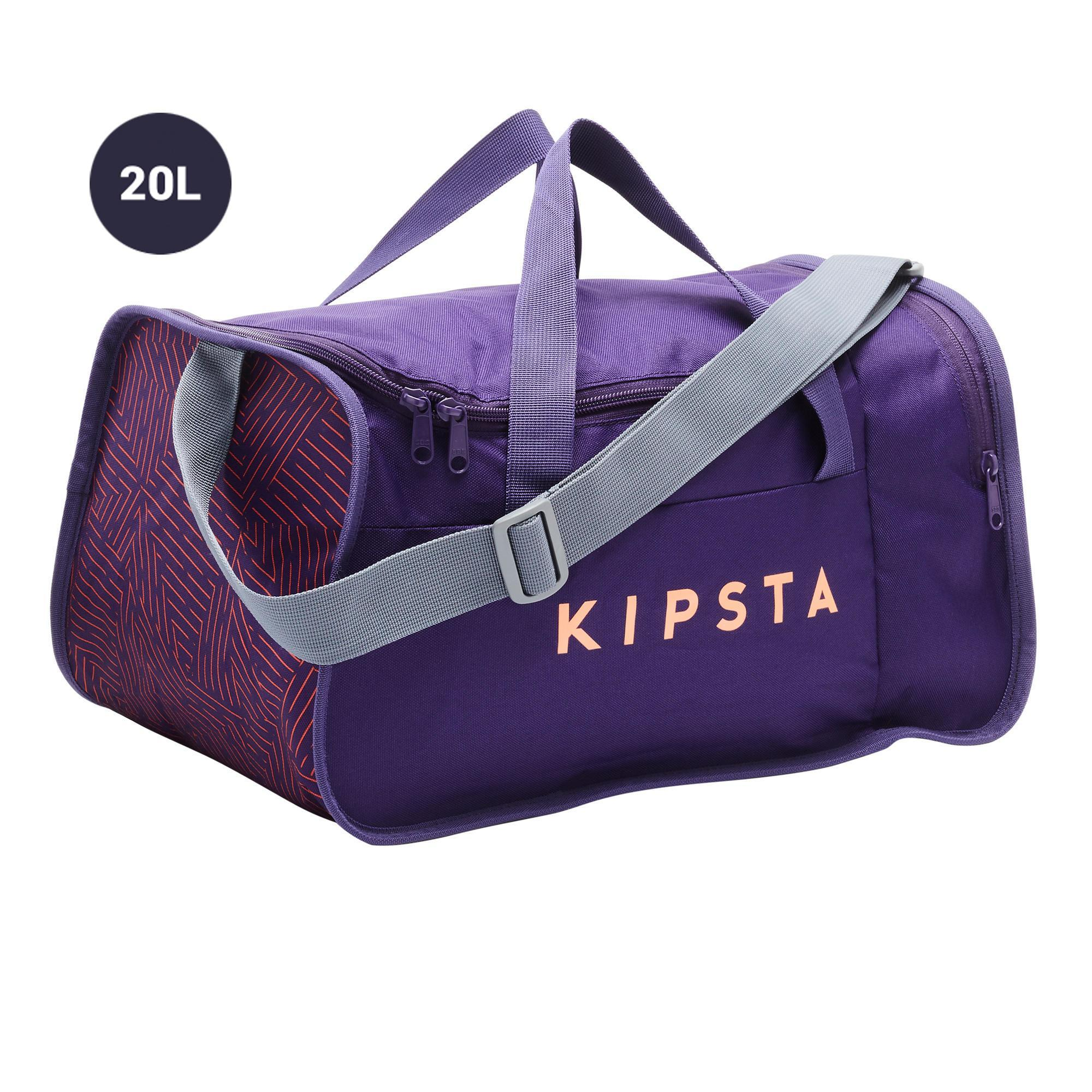 Sporttasche Kipocket 20 l violett/koralle