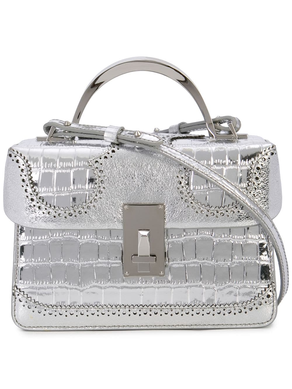 The Volon 'Data Alice' Handtasche - Silber