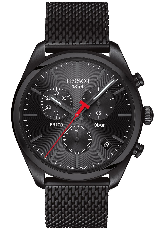 Tissot T101.417.33.051.00 Herren-Armbanduhr PR 100 Chronograph