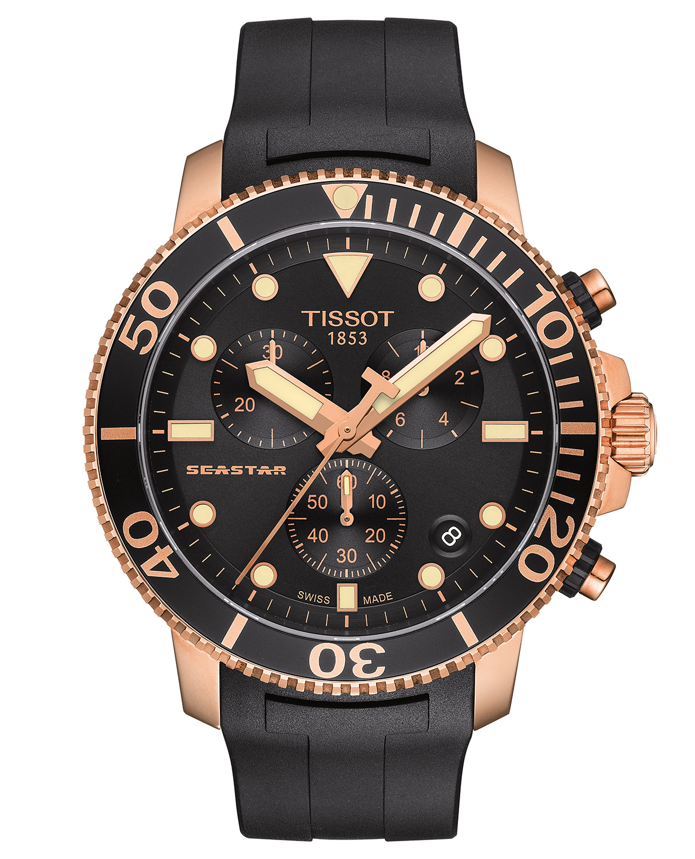 Tissot T120.417.37.051.00 Herren-Chronograph Taucheruhr Seastar 1000 Quarz