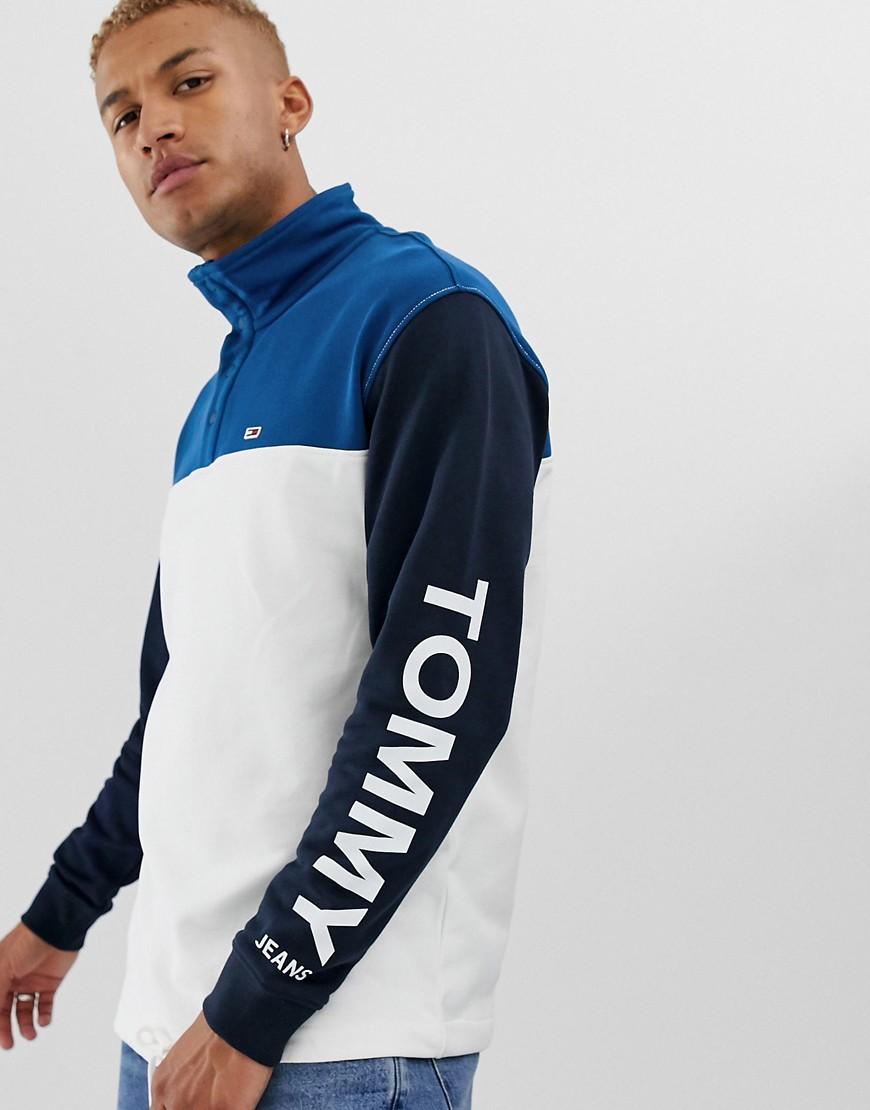 Tommy Jeans - Sweatshirt mit Stehkragen