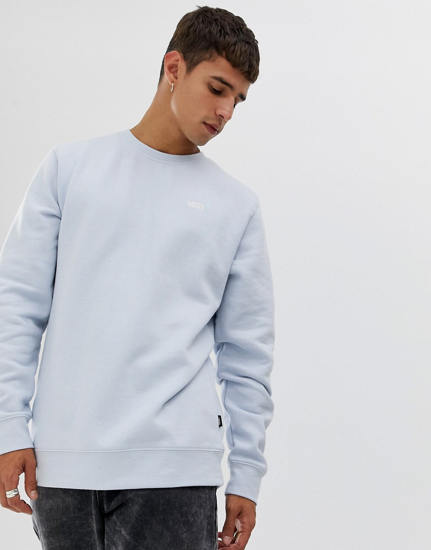 Vans - Blaues Sweatshirt mit kleinem Logo - Grau