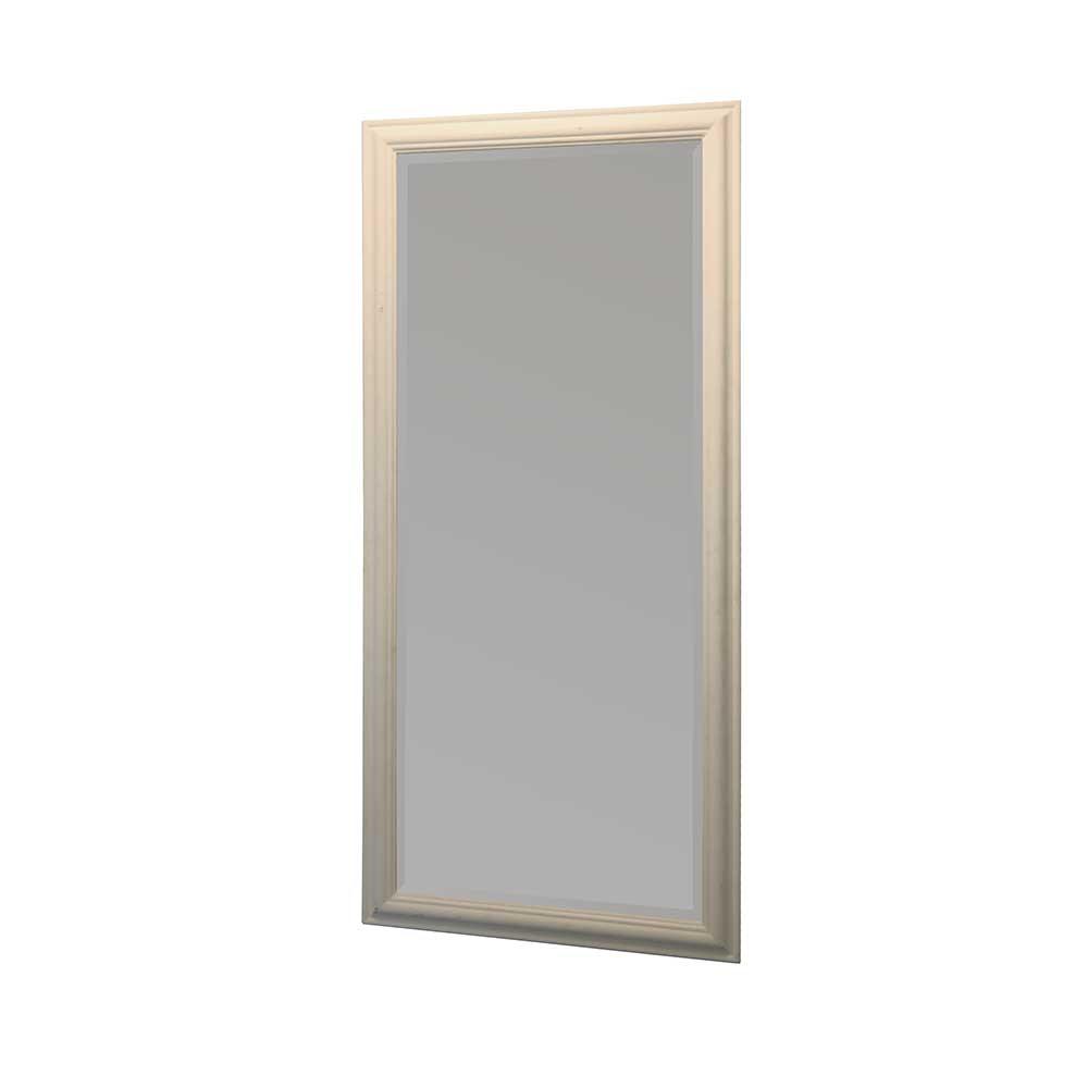 Wandspiegel in Shabby Chic Weiß