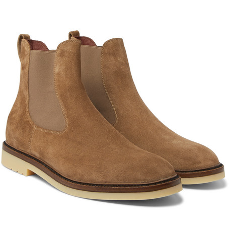 Winter Beatle Walk Suede Chelsea Boots - Tan