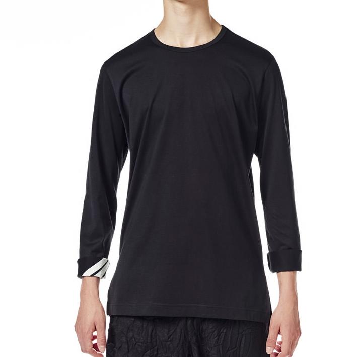 Y-3 Stripe Longsleeve Shirt (Schwarz)