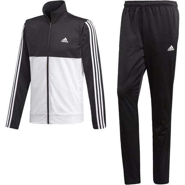 adidas Cotton Relax Trainingsanzug Herren Weiß, Schwarz