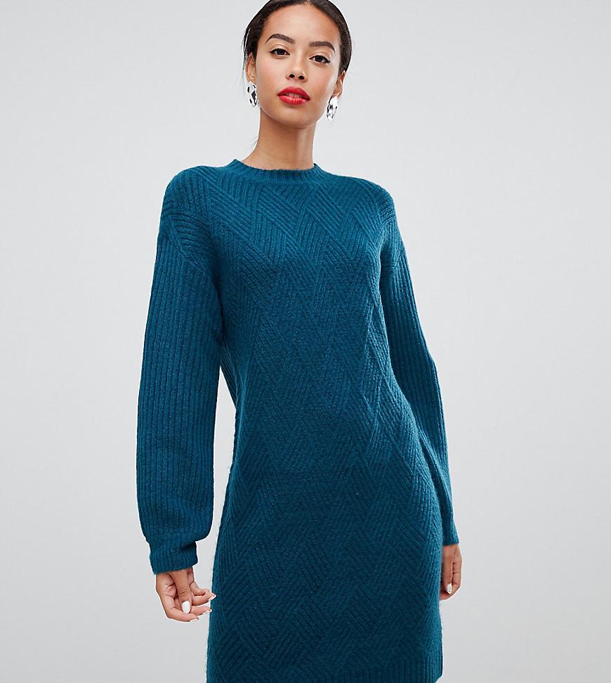 6a0de6d3db3c ASOS DESIGN - I Peel Good - Sweat-Kleid mit Stickerei - Grau online ...
