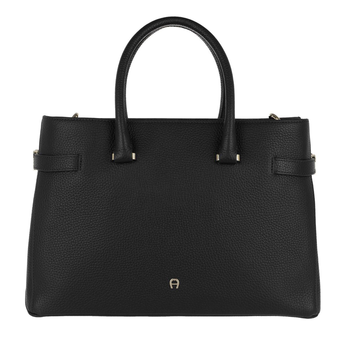 Aigner Tote - Roma M Handle Bag Black - in schwarz - für Damen