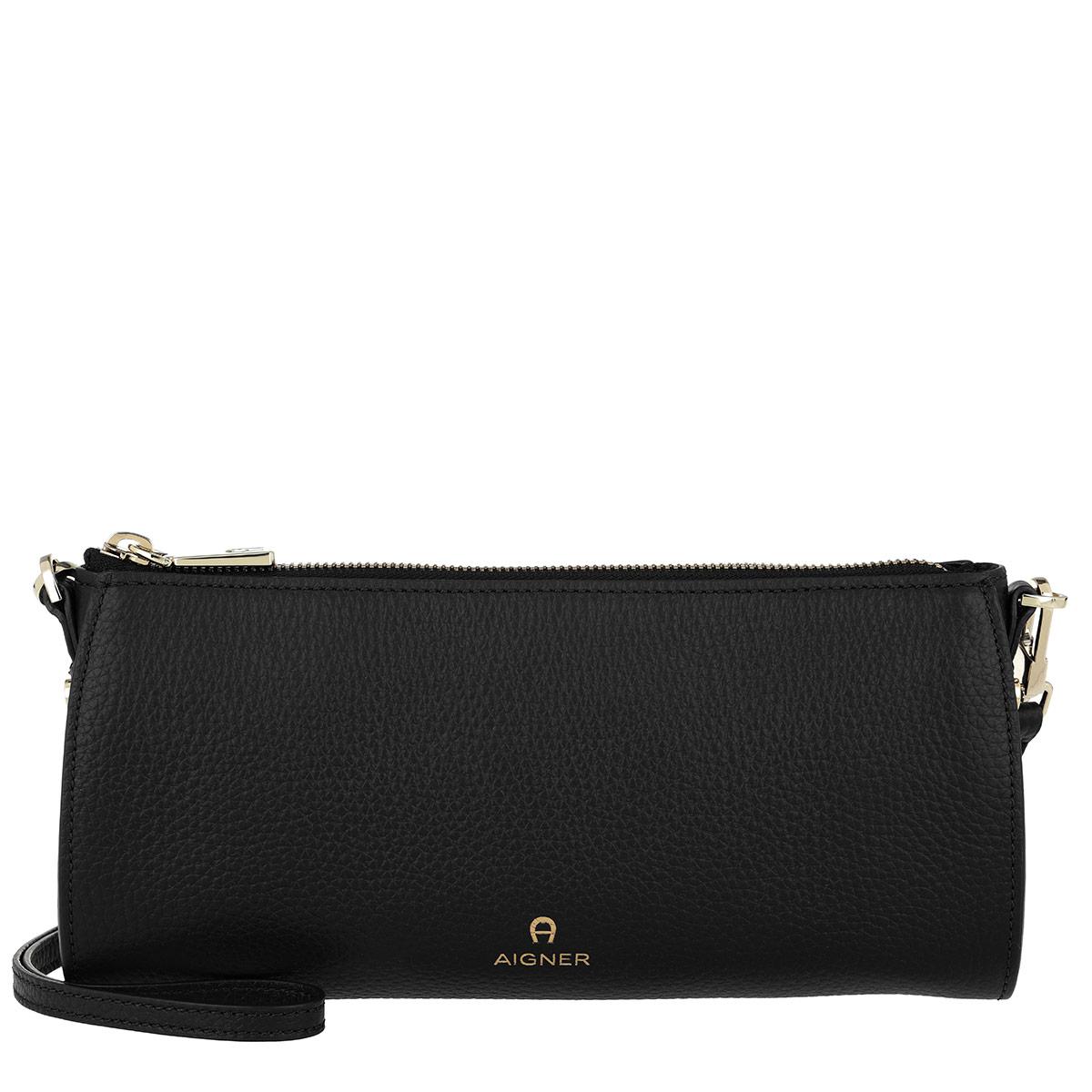 Aigner Umhängetasche - Ivy Crossbody Bag Small Black - in schwarz - für Damen