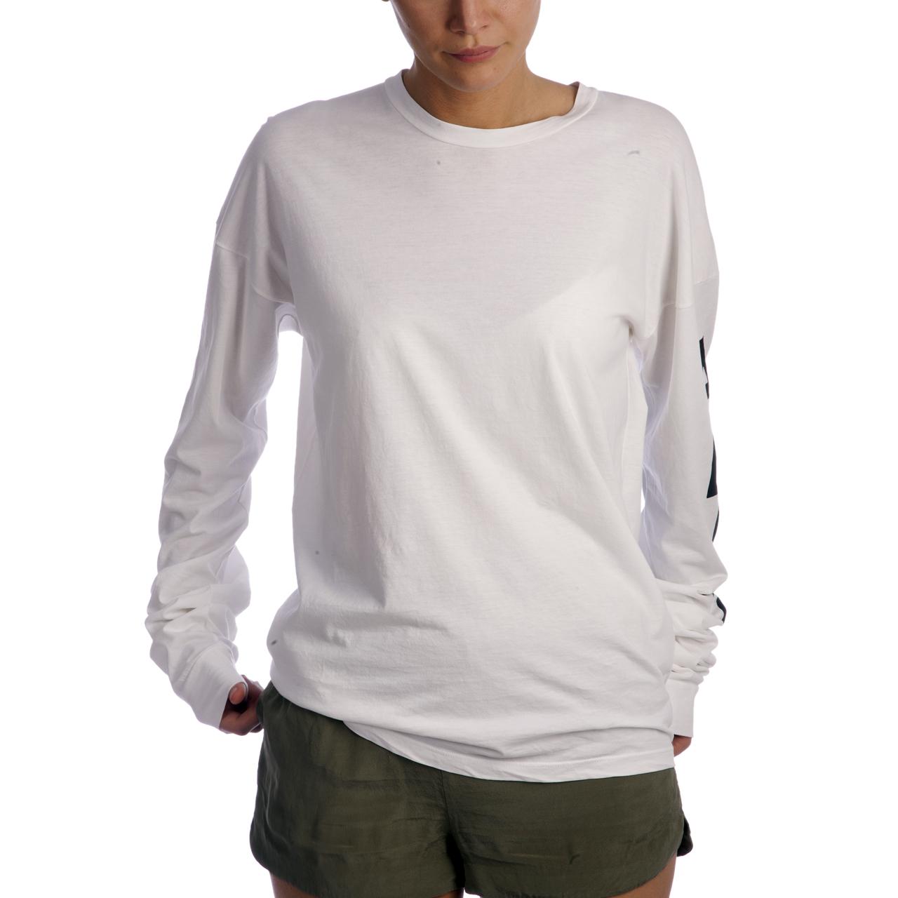 Aries Pyramid Longsleeve Shirt (Weiß)