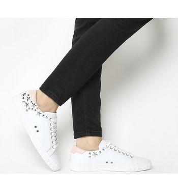Ash Dazed Sneaker WHITE POWDER LEATHER,Weiß
