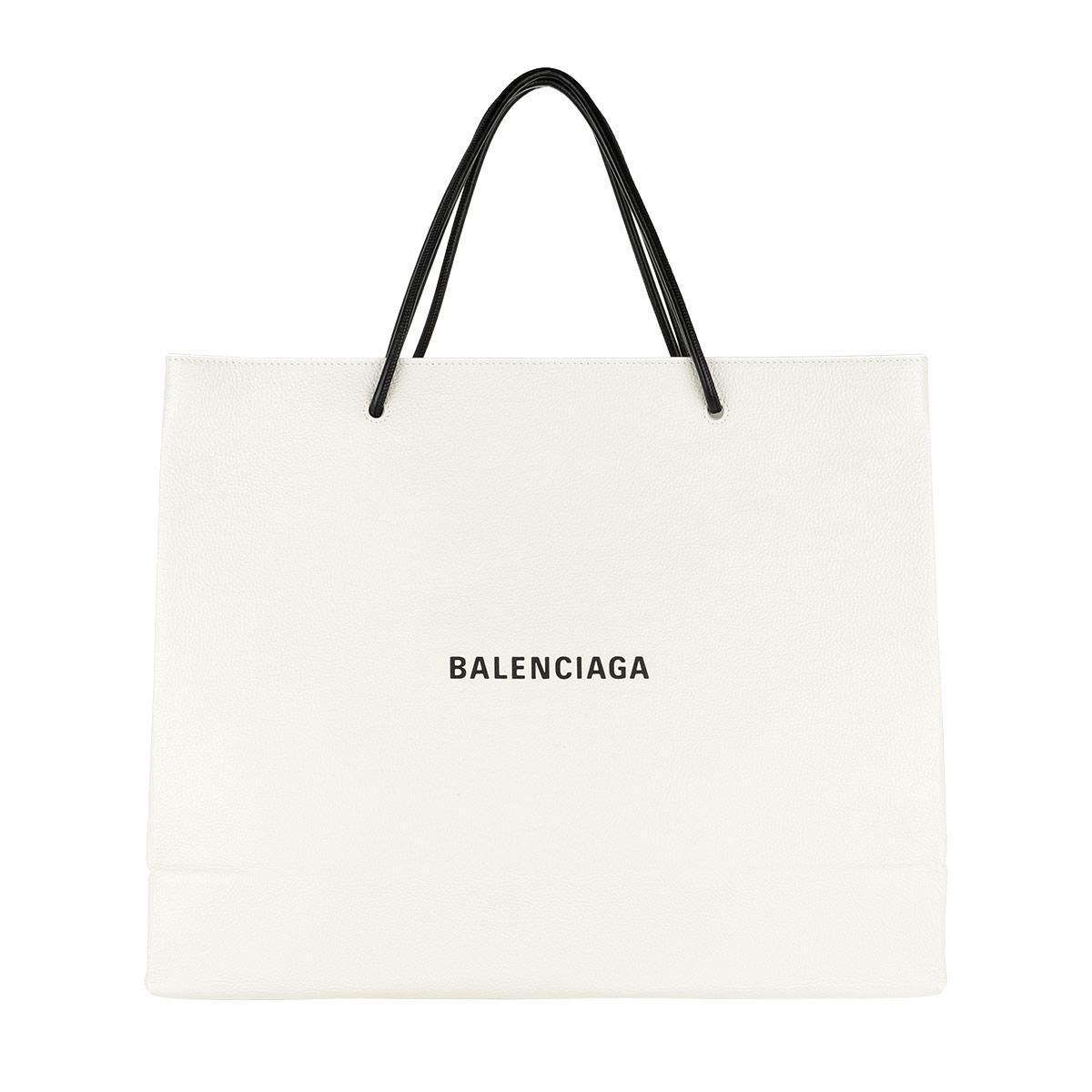 Balenciaga Shopper - Classic City Arena Fettuccia Cerata Tote White - in weiß - für Damen