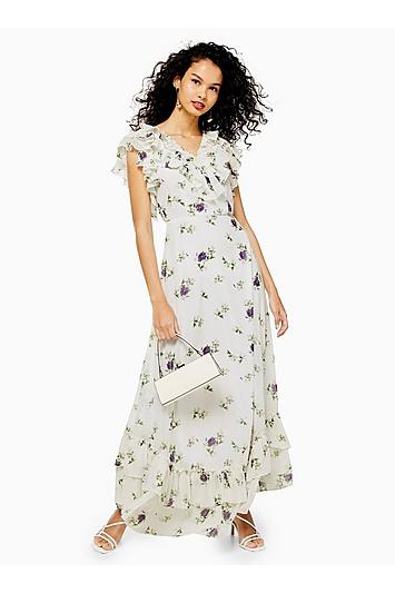 **Bedrucktes Kleid von Lace & Beads - Multi