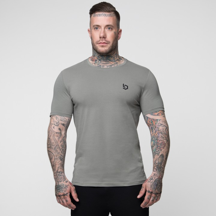 Beyond Limits Basic T-Shirt Khaki