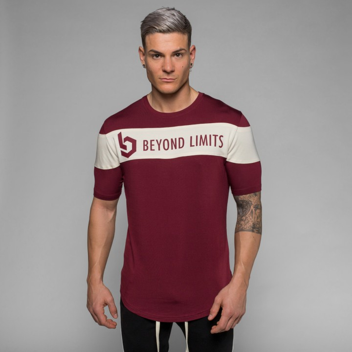 Beyond Limits Chronicle T-Shirt dunkelrot