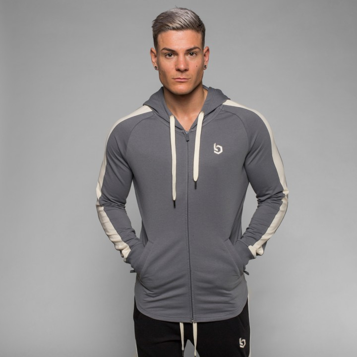 Beyond Limits Foundation Zip Hoodie grau