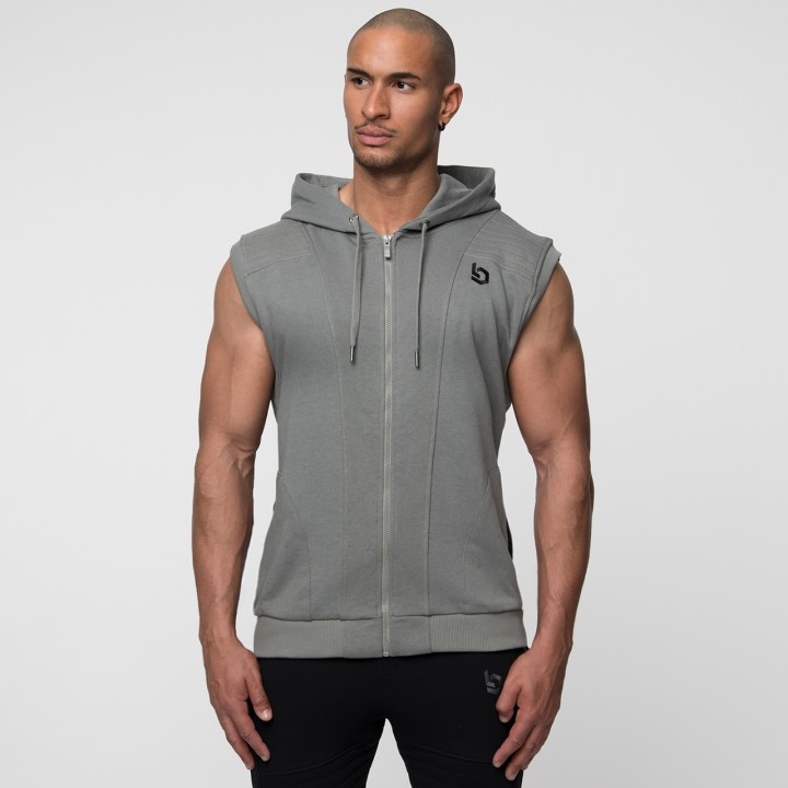 Beyond Limits Imperial Sleeveless Hoodie Khaki
