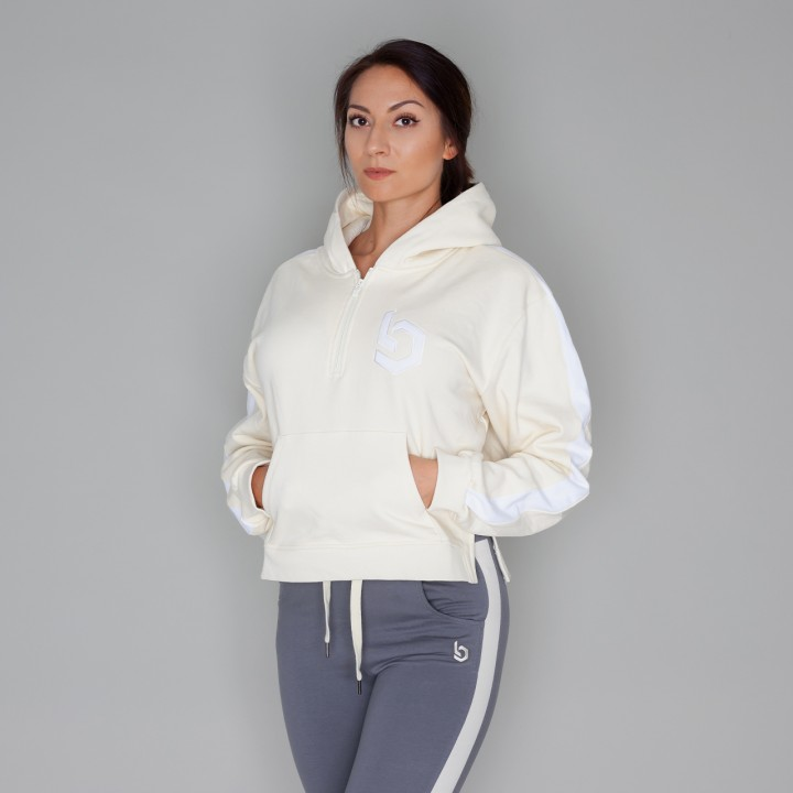 Beyond Limits Ladies Oversize Hoodie Sand