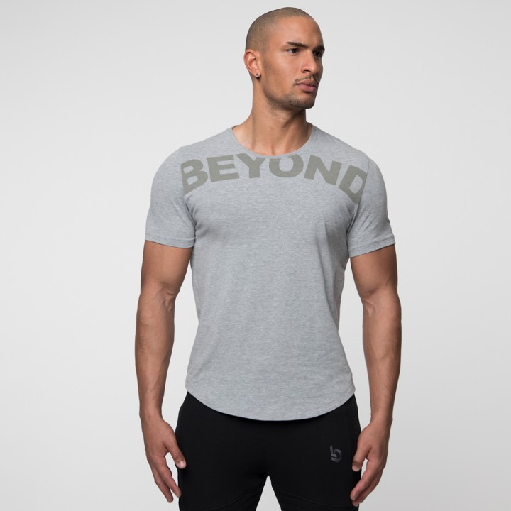 Beyond Limits League Shirt Grau- meliert