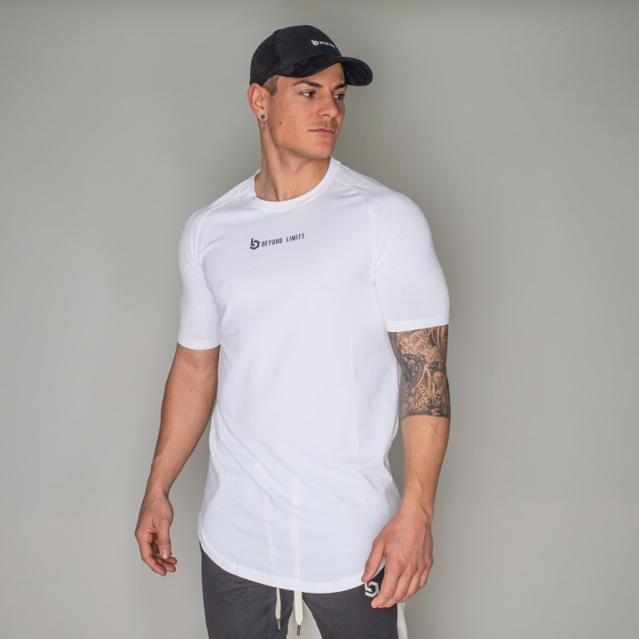 Beyond Limits Men New Standard T-Shirt Weiß