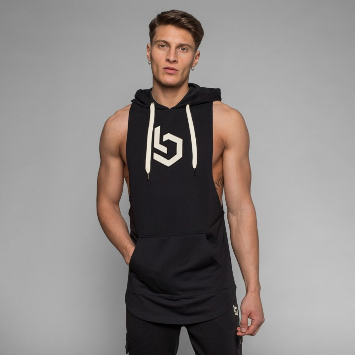 Beyond Limits Sleeveless Breathe Hoodie schwarz