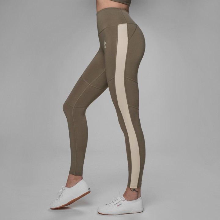 Beyond Limits Statement Leggings khaki