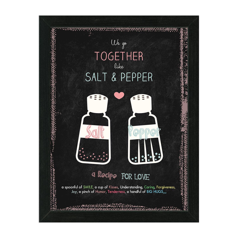 Bild Salt & Pepper - Schwarz, Pro Art